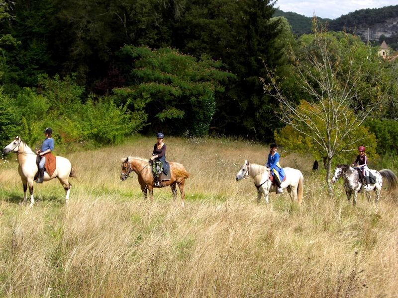 Explore the Dordogne on Horseback